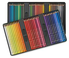 Faber-Castell Polychromos Pencils - Set of 60. I think these are the ones I want...