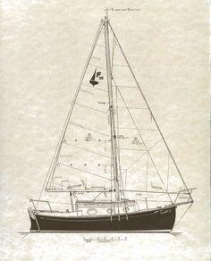 Midget 20 sailboat