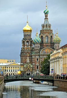The Church of the Savior on Blood, Saint Petersburg, Russia