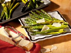 Roasted Asparagus Recipe : Tyler Florence : Food Network - Also works well on the grill.