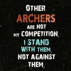 So true... Love being an Archer!