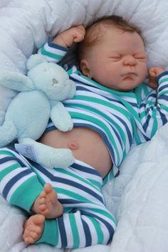 Baby Sunshine Nursery Julien Special Edition Full Body Reborn Boy Eliza Marx