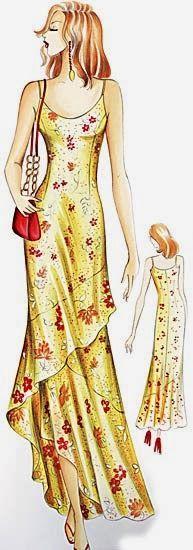 marfy 2005 wrap dress