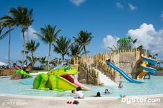 Young kids will get a kick out of this colorful water park, which has more than five slides.
