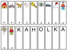 Čtení – Sisa Stipa – Webová alba Picasa Stipa, Montessori Activities, Alphabet, Calendar, Album, Holiday Decor, Mini, Cards, Struktura