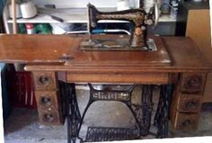 antique sewing table - Google Search