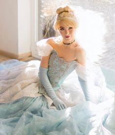 Cinderella Cosplay, Cinderella Disney, Cinderella Dresses, Disney Princess, Disney Live, Cute Cosplay, Cosplay Girls, Cosplay Costumes, Nurse Costume