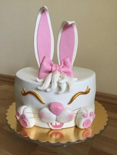Our Easter cake by Caracarla