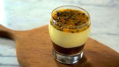 Mousse de Maracujá ao Chocolate, combinação perfeita - Receitas Nota 1000