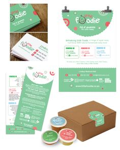 Design of the branding of a line of organic baby food, Little Foodie. I was involved in the Logo development, conceptualization, branding, packaging and website design.     Developed by East Londoner Lindsay Newland-Nell, a range of super-easy, nutritious, 100% natural homemade foods, full of goodness for your baby.