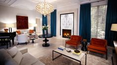 Presidential Suite, Hotel Bel-Air