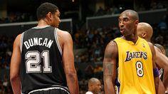 Genera polémica calidad juego de Kobe Bryant y Tim Duncan