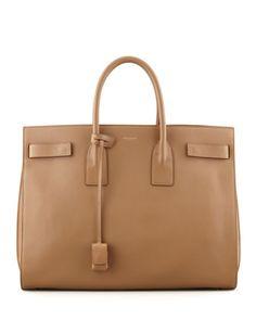 Classic Sac De Jour Leather Tote Bag
