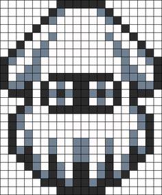 Kandi Patterns for Kandi Cuffs - Characters Pony Bead Patterns Melty Bead Patterns, Hama Beads Patterns, Beading Patterns, Kandi Patterns, Perler Bead Mario, Perler Beads, Perler Bead Templates, Pixel Art Templates, Mario Crafts