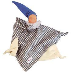 Kathe Kruse Waldorf Blanket Doll Blue