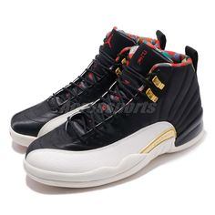 ff08b99493ee34 Details about Nike Air Jordan 12 Retro CNY XII 2019 Chinese New Year Black  Gold Red CI2977-006