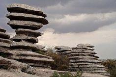 El Torcal, Spain, stone city