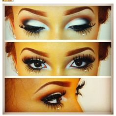 Awesome stage makeup. www.phoxdanceacademy.com
