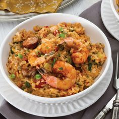 As one of the most beloved dishes across Louisiana, jambalaya holds a special spot on many dining tables throughout the fall and winter. Th is quintessentially Louisiana dish likely grew from the state's Spanish heritage and reflects the diversity of the area. Many jambalayas from New Orleans and southeast Louisiana include tomato, while Cajun jambalayas