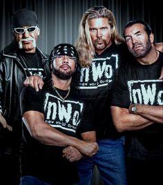 Nwo Wrestling, World Championship Wrestling, Wrestling Superstars, Scott Hall, Kevin Nash, Hulk Hogan, Professional Wrestling, Role Models, Fitness Motivation