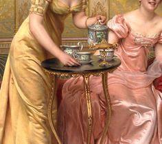 Charles Joseph Fréderic Soulacroix, Afternoon Tea