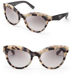 Prada Heritage Cat Eye Sunglasses on shopstyle.com