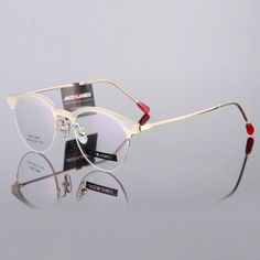 83351bfa81b8 New Fashion Eye Glasses Frames For Women Eyewear Optical Half Frame Gold  Vintage Myopic  Reading Glasses Prescription Frame 224