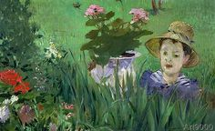 Edouard Manet. Child in the Flowers 1876