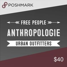 Anthropologie Free People Urban Outfitters Check out my closet! Bargain prices, 20% discount on bundles! High quality brands! Anthropologie Sweaters