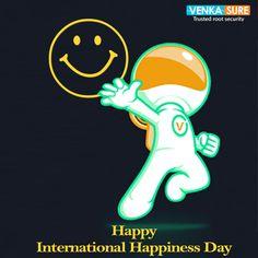 Happy International Happiness Day...!