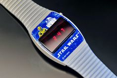 Texas Instruments Star Wars (Grey) Nerd Chic, The Last Laugh, Wristwatches, Digital Watch, Instruments, Texas, Star Wars, Technology, Led