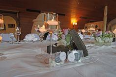 Hochzeitstafel mit Reisemotto - Riessersee Garmisch