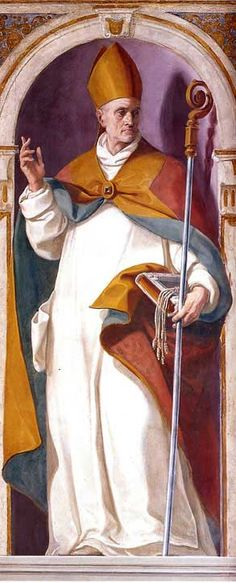 St.Anthelm - Carthusian monk and bishop