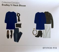 Stitch Fix - Collective Concepts Bradley V-Neck Blouse. Love love love the color. Has been great for work.