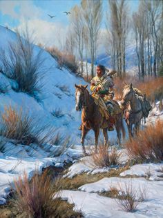 Martin Grelle | Native Indian Paintings | Pinterest