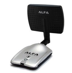 Alfa AWUS036H Upgraded to 1000mW 1W 802.11b/g High Gain USB Wireless Long-Rang WiFi network Adapter with 5dBi Rubber Antenna and a 7dBi Panel Antenna - for Wardriving & Range Extension *Strongest on the Market* by Alfa. $32.99. The Alfa AWUS036H is the latest version of the most powerful card available. This has a stunning 1000mW output power. So if you are looking for a device to connect to an outdoor 2.4 GHz antenna, such as on a boat or an RV, this is a perfect so...