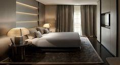 Milan luxury spa hotel with indoor pool - Armani Hotel Milano