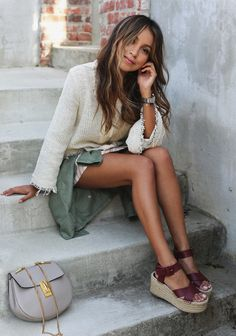 chloe drew bag | sincerely jules | fashion blog | summer outfit | espadrilles outfit