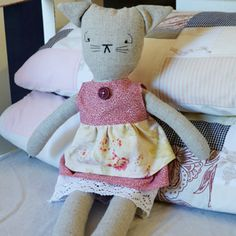 free cat doll pattern
