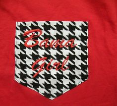 Bama Girl Pocket T Shirt Child or Adult by SimplySweetByB on Etsy, $20.00