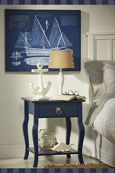 Modern Blue Home Decor Blue wall art is a sophisticated and trendy way to deck the walls of your home. Blue wall art makes your home feel harmonious, peaceful and relaxing. However blue wall art can also create a bold first impression . Funky Home Decor, Blue Home Decor, Eclectic Decor, Unique Home Decor, Home Wall Art, Wall Art Decor, Decor Interior Design, Interior Decorating, Interior Accessories