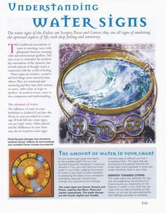 Understanding water signs, dream interpretation views water with the same respect, depending on the body of water.