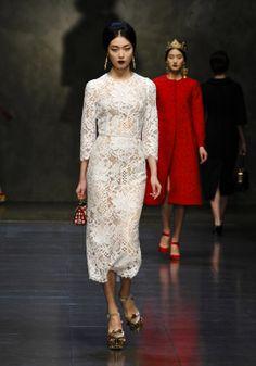 Fashion Runway | dolce-and-gabbana-fw-2014-women-fashion-show-runway-54