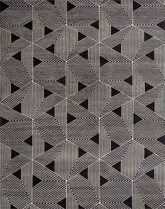 Tokyo - Rug Collections - Designer Rugs - Premium Handmade rugs by Australia's leading rug company design Geometric Patterns, Graphic Patterns, Boho Pattern, Pattern Art, Pattern Design, Design Textile, Tapis Design, Motifs Textiles, Textile Patterns