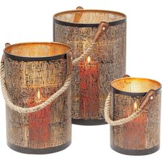 Kare Design Kare Lantaarn Line Rope kopen? shop bij vtwonen by fonQ! Kare Design, Candle Jars, Candle Holders, Candles, Chandeliers, Mesh, Home, Dimensions, Unique