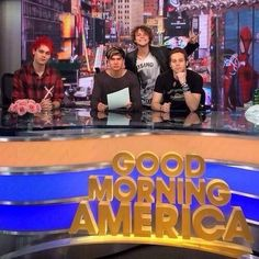 5SOS on Good Morning America.