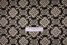 Mill Creek Raymond Waites Arvin-Terrace Printed Polyester Outdoor Fabric in Tuxedo $8.95 per yard