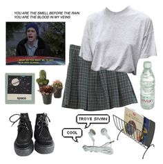 """""""64"""" by ourijimin ❤ liked on Polyvore featuring Retrò and Mind Reader"""