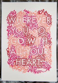 Quote Posters Version 1.0 by Dewi-marie Vincoy, via Behance
