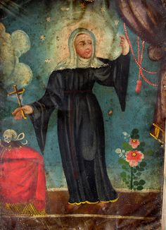 Saint Rita, one of my favorites.  Turn to her to learn how to forgive